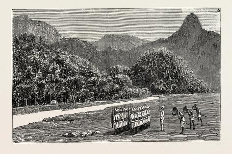 The Expedition Against the Akha Marauders on the Frontier of Assam Giclee Print