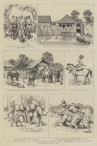 The Expedition to Upper Burma, with the Tonghoo Field Force Giclee Print