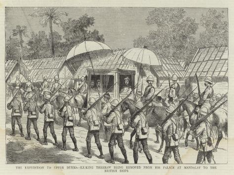 The Expedition to Upper Burma Giclee Print