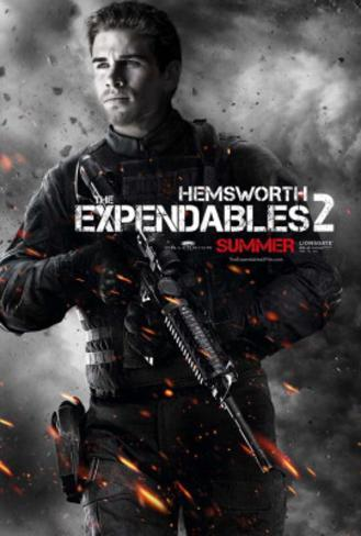 The Expendables 2 (Liam Hemsworth) Movie Poster Original Poster