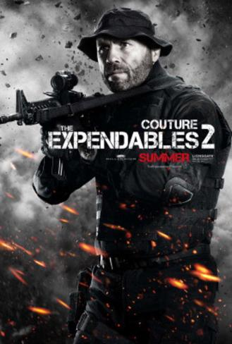 The Expendables 2 (Randy Couture) Movie Poster Original Poster