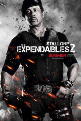 The Expendables 2 (Sylvester Stallone) Movie Poster Poster originale
