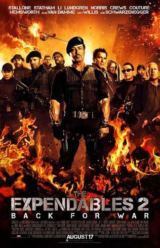 The Expendables 2 Stampa master