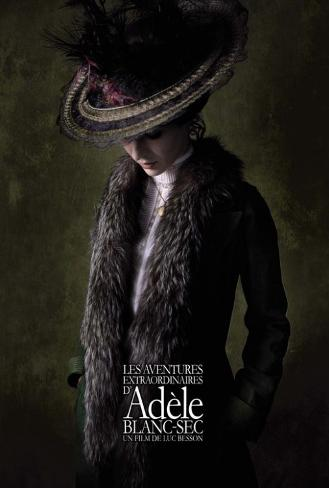 The Extraordinary Adventures of Adele Blanc-Sec - French Style Poster