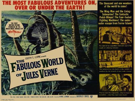 The Fabulous World of Jules Verne, 1961 Konstprint