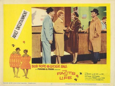 The Facts of Life, 1960 Art Print
