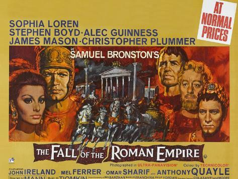 The Fall of the Roman Empire, 1964 Konstprint