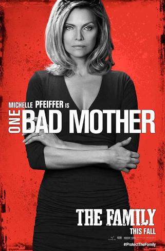 The Family (Robert De Niro, Michelle Pfeiffer, Dianna Agron) Movie Poster Masterprint