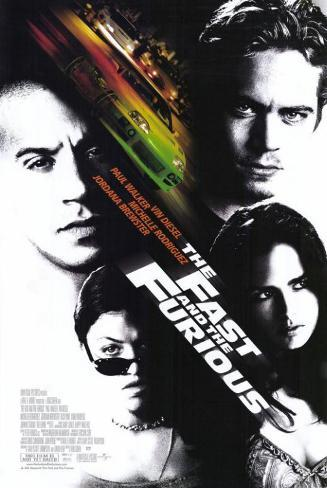The Fast and the Furious Masterprint