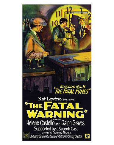 The Fatal Warning - 1929 Giclee Print