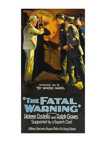 The Fatal Warning, by Whose Hand Stretched Canvas Print