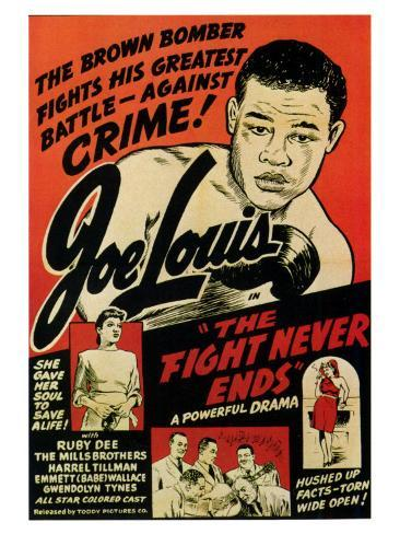 The Fight Never Ends Premium Giclee Print
