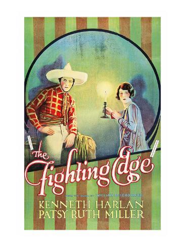 The Fighting Edge Art Print