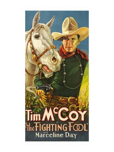 The Fighting Fool Art Print