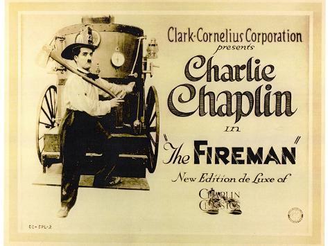 The Fireman, 1916 Art Print