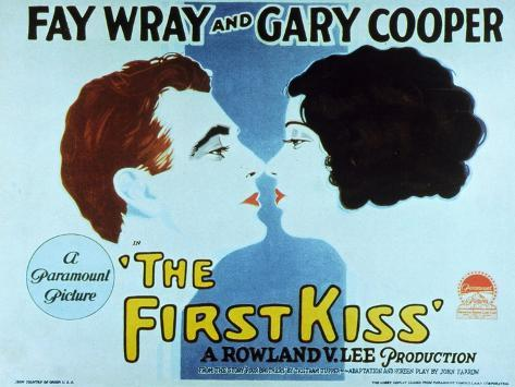 The First Kiss, 1928 Stampa artistica