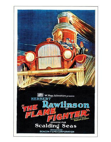 The Flame Fighter - 1925 III Giclee Print