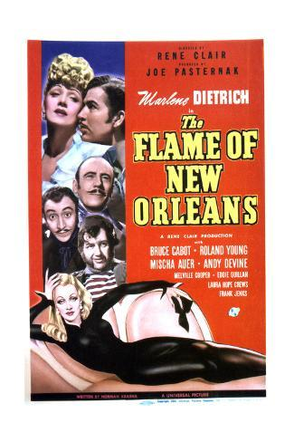 The Flame of New Orleans - Movie Poster Reproduction Art Print