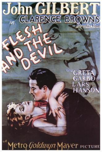 The Flesh and the Devil Poster