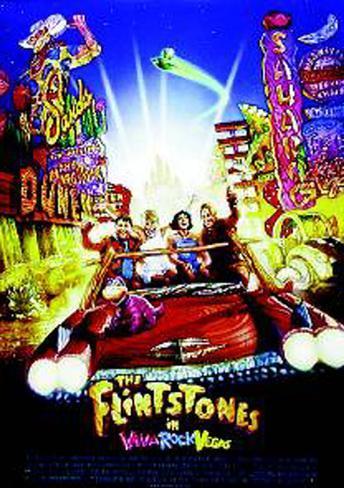 The Flintstones In Viva Rock Vegas Original Poster