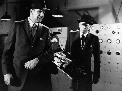 The Fly, Vincent Price, Herbert Marshall, 1958 Foto