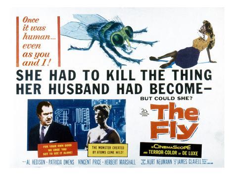 The Fly, Vincent Price, Patricia Owens, 1958 Fotografia