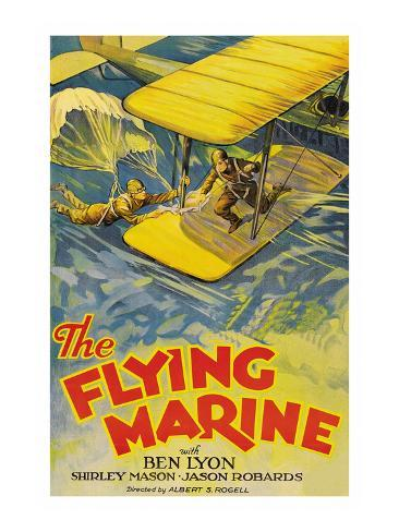 The Flying Marine Art Print