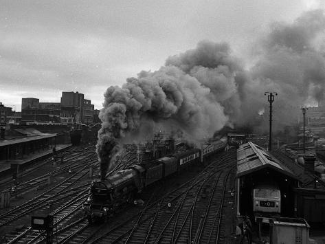 The Flying Scotsman Steam Train Locomotive, 1969 Photographic Print