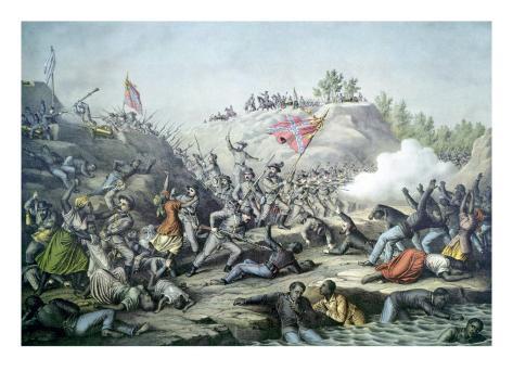 The Fort Pillow Massacre, April 12, 1864 Photo