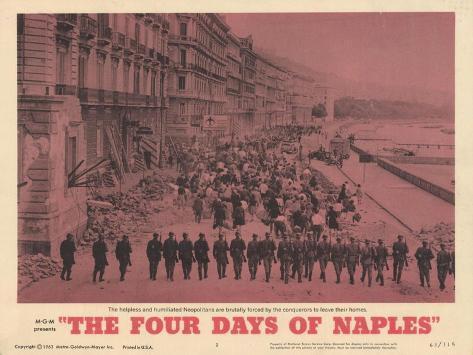 The Four Days of Naples, 1963 Lámina giclée prémium
