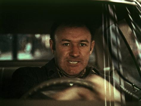 The French Connection, Gene Hackman, 1971, In The Famous Car Chase Scene Photo