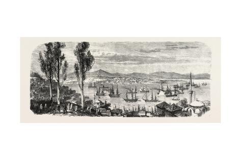 The French Fleet Passing the Bosphorus Giclee Print