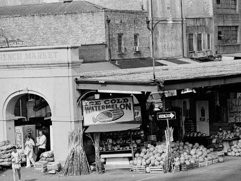 The French Market in New Orleans Photographic Print