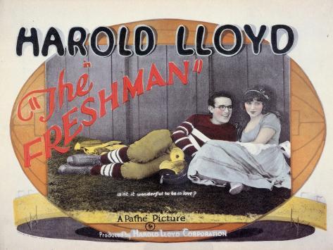 The Freshman, 1925 Art Print
