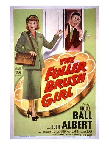 The Fuller Brush Girl, Lucille Ball, Eddie Albert, 1950 Photo