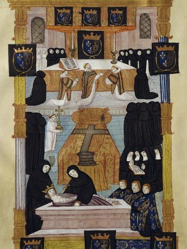The Funeral of Anna (1477-1514) Giclee Print