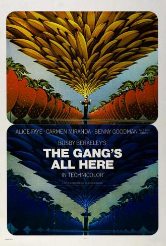 The Gang's All Here Poster