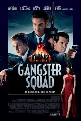 The Gangster Squad (Sean Penn, Ryan Gosling, Emma Stone) Movie Poster Poster