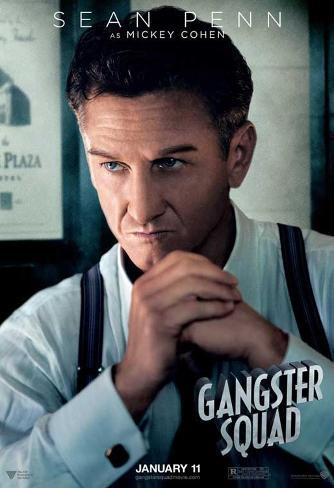 The Gangster Squad (Sean Penn, Ryan Gosling, Emma Stone) Movie Poster Masterprint