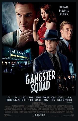 The Gangster Squad (Sean Penn, Ryan Gosling, Emma Stone) Movie Poster ポスター