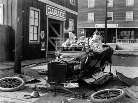 The Garage, 1919 Photographic Print