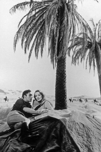 The Garden of Allah by Richard Boleslawski with Charles Boyer, Marlene Dietrich, 1936 Photo