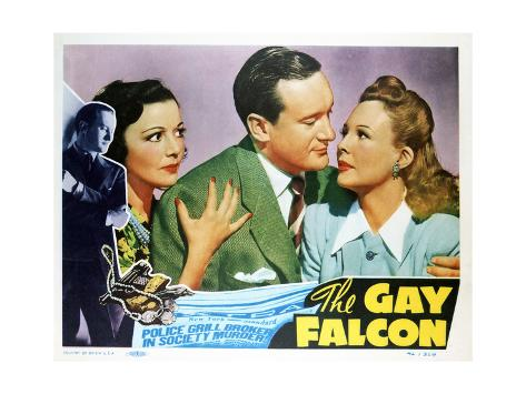 The Gay Falcon - Lobby Card Reproduction Art Print