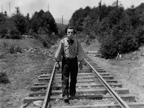 The General, Buster Keaton, 1926 写真