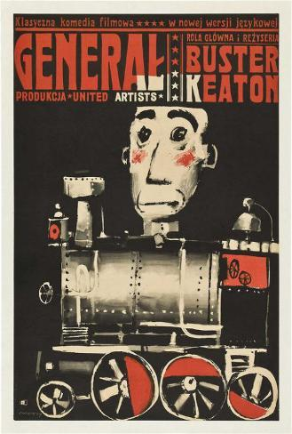 The General - Polish Style Poster