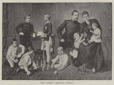 The German Imperial Family Giclee Print