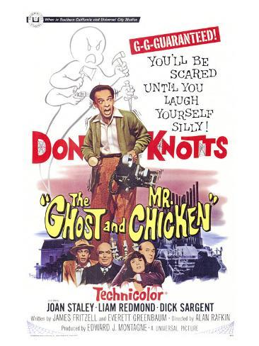 The Ghost and Mr. Chicken Art Print