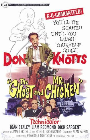 The Ghost and Mr. Chicken Masterprint