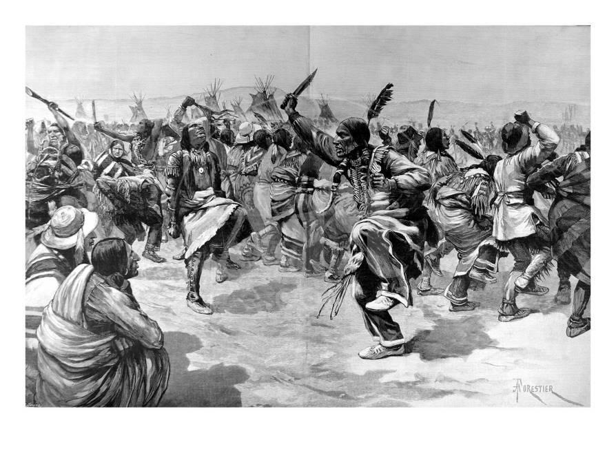 The Ghost Dance of the Sioux Indians