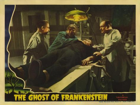 The Ghost of Frankenstein, 1942 Lámina